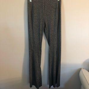 Yado Charcoal Grey Flared Pants S